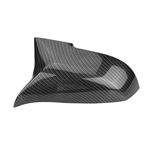 1 Paar Kohlefaser Rückspiegelkappen Auto Flügel Spiegelabdeckung für 220i 328i 420i f20 f21 f22 f30 f32 f33 f36 f1x1 e84