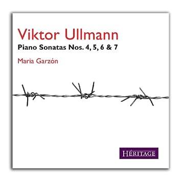 Viktor Ullmann Piano Sonatas Nos. 4,5,6,7