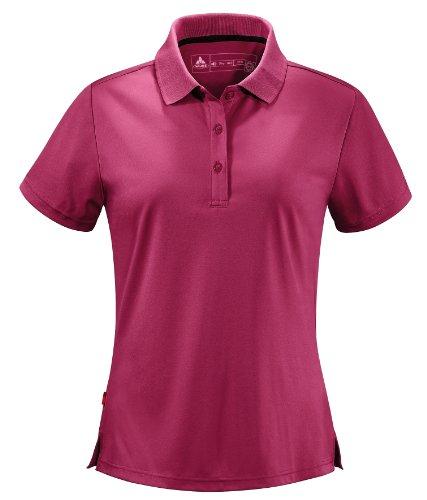 Vaude 038/S40/M257038/S0 Polo pour femme Kerrik Rouge 38/S