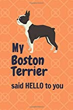 My Boston Terrier said HELLO to you: For Boston Terrier Dog Fans