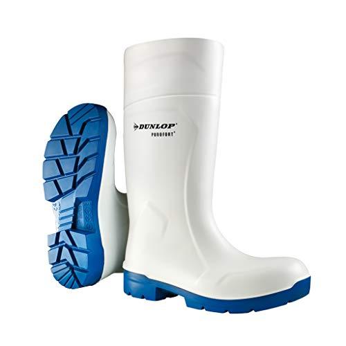 Dunlop Protective Footwear Purofort FoodPro MultiGrip safety Unisex-Erwachsene Gummistiefel, Weiß 43 EU