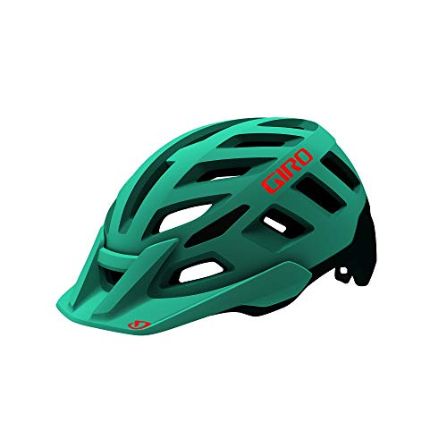 Giro Radix MIPS W Womens Mountain Cycling Helmet - Small (51-55 cm), Matte Cool Breeze/True Spruce (2020)