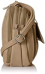 MultiSac Zippy Triple Compartment Crossbody Bag, Chino