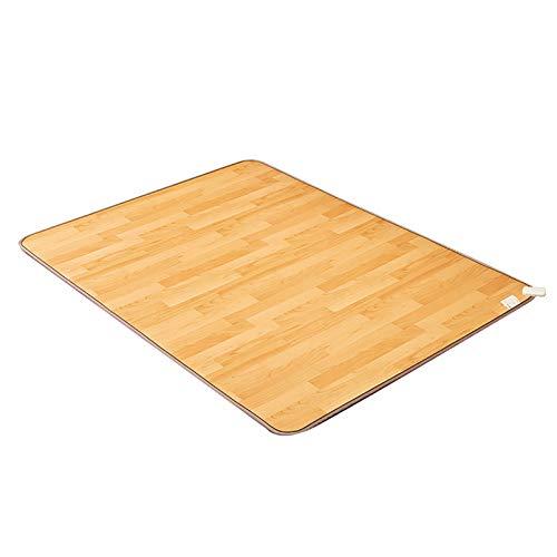 infactoryHeizteppichWohnzimmer:BeheizbareInfrarot-Fußboden-Matte,50x30cm,bis50°C,820Watt(Teppichheizung)