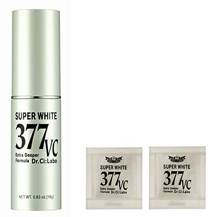 地理教えて国【Amazon.co.jp 限定】ドクターシーラボ スーパーホワイト377VC 18g+サンプルパウチ 美容液