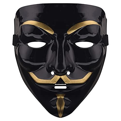 Hacker Mask,Anonymous Mask,V for Vendetta ,Game Master,Pz9 Hacker Halloween Mask