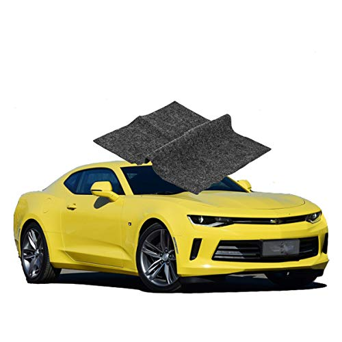 【2 Pack】 Car Scratch Remover Cloth, Upgraded Version Scratch Removal for Cars, Nano Technology to Repair Car Scratches and Car Surface Polishing
