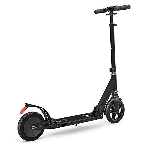 YMXLJJ Scooter électrique, Scooter électrique Pliable, Scooters électriques pour Adultes Moteurs 150w, Vitesse Maximale 15 km h, Batterie Li-ION 2600mAh, Pliable Ultralight,E9