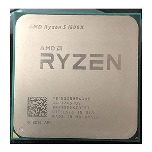 AMD Ryzen 5 1500X R5 1500X 3.5 GHz Quad-Core Eight-Core CPU Processor L3=16M 65W YD150XBBM4GAE Socket AM4