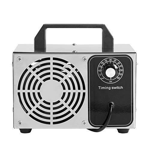 Purozono Generatore di ozono 24.000 MG/h - Ozonizzatore per disinfettare e purificare l'aria eliminando Virus, Funghi, batteri, allergeni e Cattivi odori