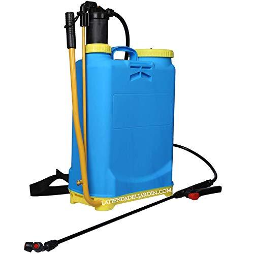 Suinga - PULVERIZADOR a presión con indicador de nivel 16L MOCHILA pulverizar, sulfatar, regar huerto y jardín