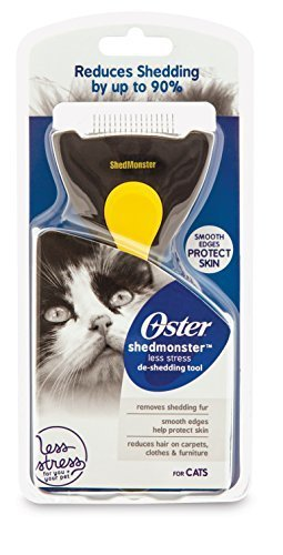 ShedMonster DRP-SHED-RPQCA De-Shedding Tool for Cats by ShedMonster