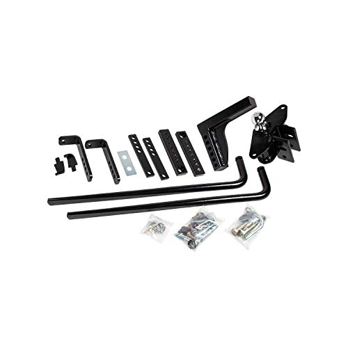 Reese 49912 Round Bar Weight Distribution Kit with Integrated Sway, 8,000 lbs. (GTW), 800 lbs. (TW)