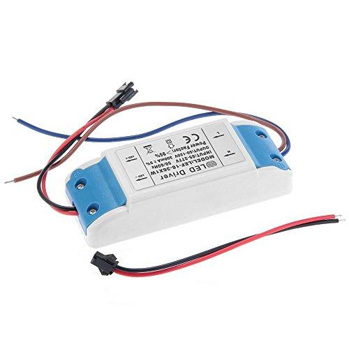 TOOGOO(R) LED Treiber 18-36W Driver Trafo Transformator DC 50-120V AC 85-277V Hochwertig