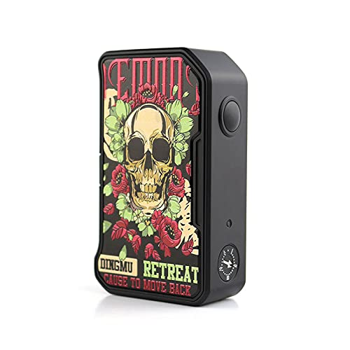 DOVPO MVV II 280W Variable Voltage Box Mod Power Durch Dual 18650 Batterien Fit (Skull & Roses)