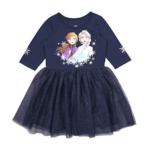 Disney Frozen II Elsa Dress for Girls Navy