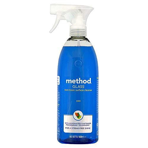 Method Glass Cleaner Spray, Mint, 828 ml