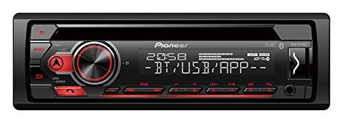 Pioneer DEH-S310BT | 1DIN Autoradio | CD-Tuner mit RDS | Bluetooth | MP3 | USB und AUX-Eingang | Bluetooth Freisprecheinrichtung | Smart Sync App | 13-Band Equalizer | Spotify