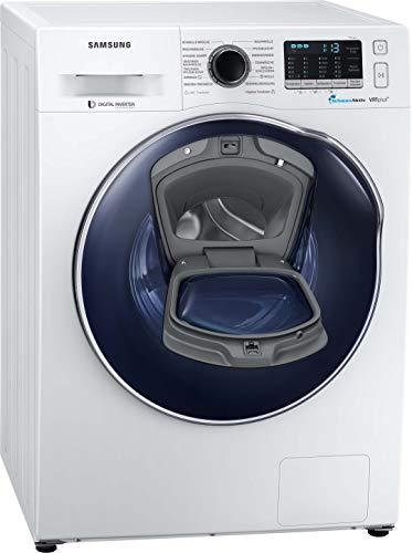Samsung WD5500 WD80K52I0ZW/EG AddWash-Waschtrockner 8+5 kg / 1200 U/min / B / AddWash / Platzsparer – 2-in-1 NUR 45 cm tief