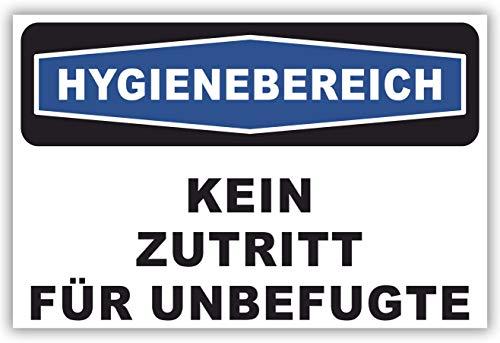 SCHILDER HIMMEL anpassbares Betreten verboten Schild 21x15cm Kunststoff mit Schrauben, Nr 216 eigener Text/Bild verschiedene Größen/Materialien