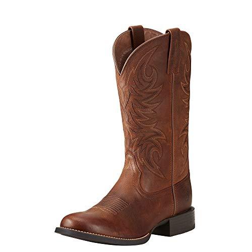 ARIAT - Herren Sport Horseman Western Western Schuhe, 42 W EU, Rafter Tan