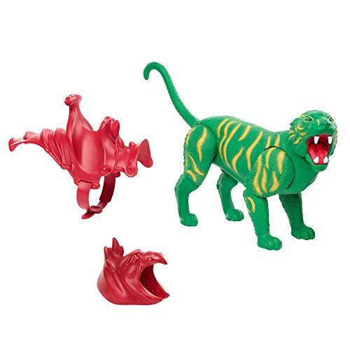 Masters of the Universe GNN70 - Masters of the Universe Origins Battle Cat, ca. 17 cm große Actionfigur, tigerartiges Wesen von Eternia