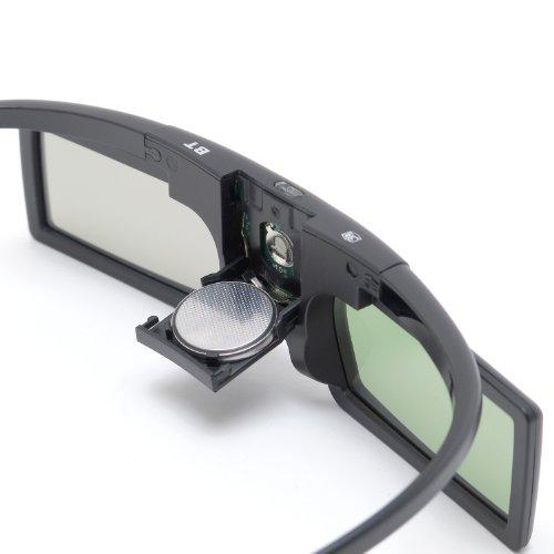 『Bluetooth互換 アクティブシャッター方式 3Dメガネ ボタン電池 RV-3DGBT2B』の2枚目の画像