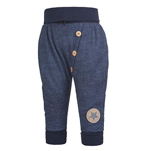 Little Angel Pantalon de jogging pour bébé et enfant en coton - Bleu - 24 mois
