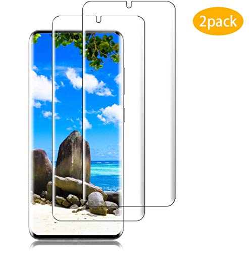 Panzerglas Schutzfolie für Samsung Galaxy, [2 Stück], 9H Härte, Anti-Kratzer, Anti-Bläschen, Anti-Öl & Fingerabdruck, HD Klar, Displayschutzfolie für Samsung Galaxy (s9-10)