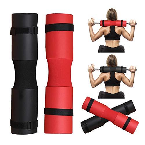 HONGLONG Squat Schwamm Schulterpolster, Fitness-Hantel Schulterpolster, Schaumstoff Schultertraining Pads, Nacken, Hüfte Kissen