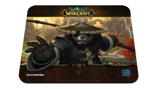 SteelSeries QcK Mists of Pandaria Panda Monk Edition Gaming Mauspad