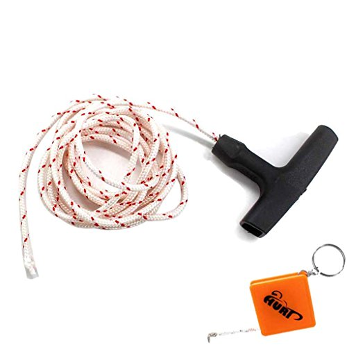 HURI Startergriff mit 2m Starterseil Seil 3,5mm passt für Stihl Motorsäge 024 024AV 026 028 028AV 029 044 MS180 MS240 MS260 MS270 MS280 MS290 MS360 MS440 Motorsägen
