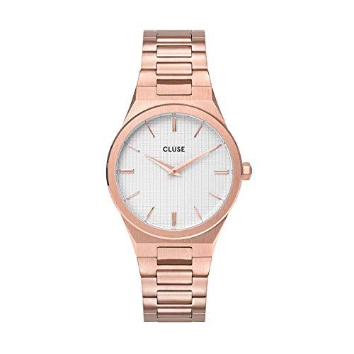 Cluse Reloj Analógico para Señoras de Cuarzo con Correa en Acero Inoxidable CW0101210001