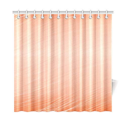 Presock Duschvorhänge, Home Decor Bath Curtain Apricot Texture Template Polyester Fabric Waterproof Shower Curtain for Bathroom, 60 X 72 Inch Shower Curtains Hooks Included