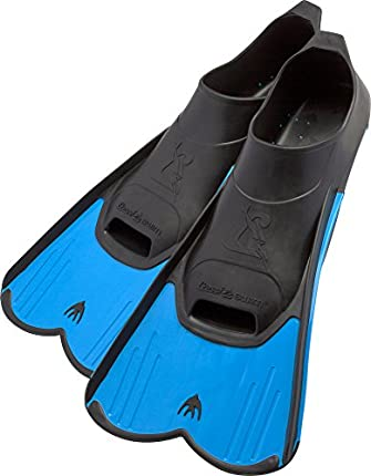Cressi DP182041 Aletas de natación, Unisex-Youth, Azul, 41/42