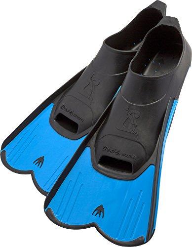 Cressi Light Aletas de natación, Unisex-Youth, Azul, 31/32