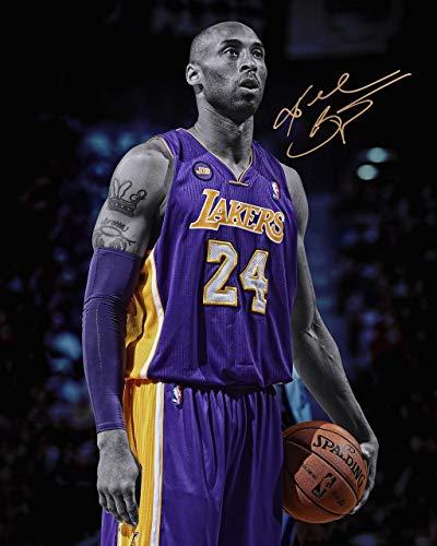 Póster de The Memory of Kobe Bryant Bryant Bryant - Póster de baloncesto (15 x 58 cm, 33 x 580 mm)