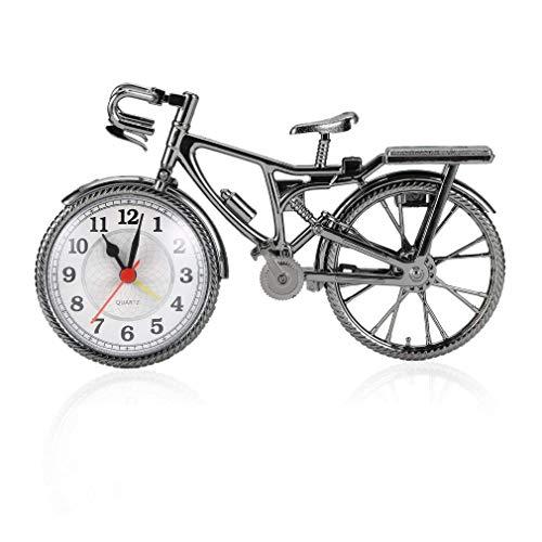 KoelrMsd 1pc Despertador Bicicletas Retro Estilo Fresco Reloj Personalidad de Moda Popular Nuevo