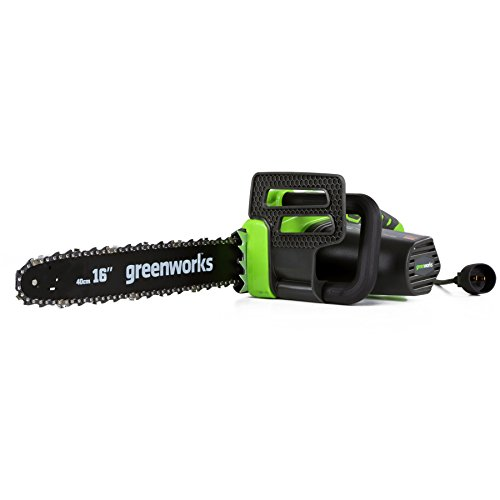 Greenworks 12-Amp 16-Inch Electric Chainsaw, 20232