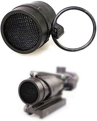 Zielfernrohr, rund, Netz-Abdeckung, entspiegelt, für ACOG 4 x 32 Zielfernrohr (schwarz)
