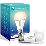 Kasa Smart Light Bulb, LED Smart WiFi Alexa Bulbs works with Alexa and Google Home,A19 Dimmable…