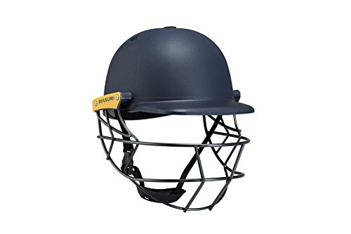 Masuri M-LSNSM Original Series MK II Legacy Steel Cricket Helmet , Green , Senior Small (55-58 cm)
