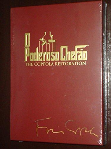 DVD O Poderoso Chefão [ The Godfather Trilogy Collection Coppola Restoration ] [Audio and Subtitles in English + Brazilian Portuguese] [Brazilian Edition Region 4]