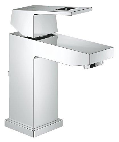 GROHE Eurocube | Badarmatur - Einhand-Waschtischbatterie, S-Size | mit Zugstange |chrom| 23127000