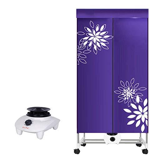 QIMO Haushaltsklapp-Trockenmaschine Faltbarer Wäschetrockner Elektrisch Tragbar Einstellbarer Timer Geräuscharm Für Zuhause, Wäscherei, Wohnung 1000W