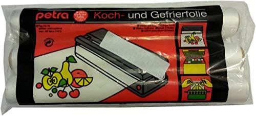 Petra-Electric Koch- und Gefrierfolie -40°C bis +110°C gefrier und Kochfest Stärke 0,03mm (3)