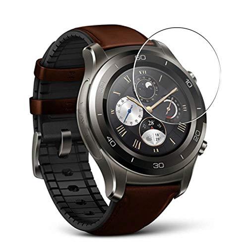 Vaxson 3 Unidades Protector de Pantalla, compatible con Huawei Watch 2 Classic [No Vidrio Templado] TPU Película Protectora Reloj Inteligente Film Guard Nueva Versión