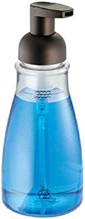 iDesign Plastic Foaming Soap Pump Dispenser Holds 14 oz. for Kitchen, Bathroom, Sink, Vanity, 3