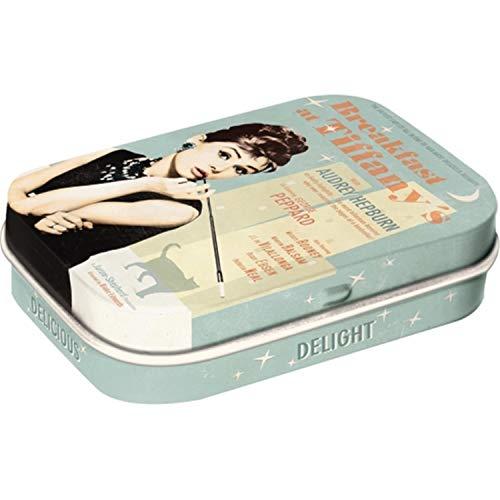Nostalgic-Art 81247 Celebrities - Breakfast at Tiffany's Blue, Mint Box