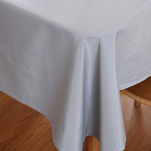 DJUX Tischdecke, wasserdicht, einfarbig, 70 x 70 cm, 140 x 220 cm, Burgunderrot / Violett